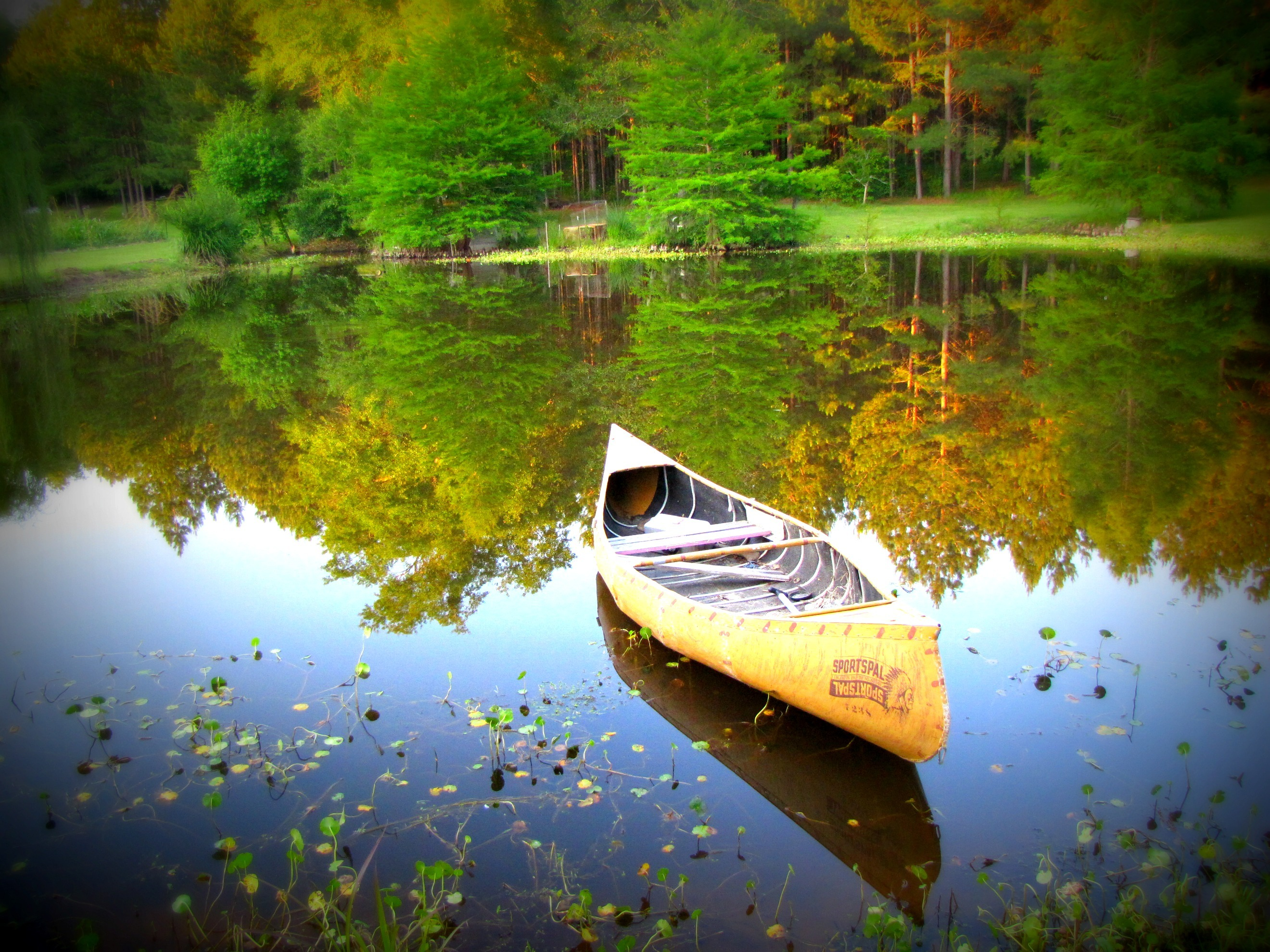 canoe_water_nature